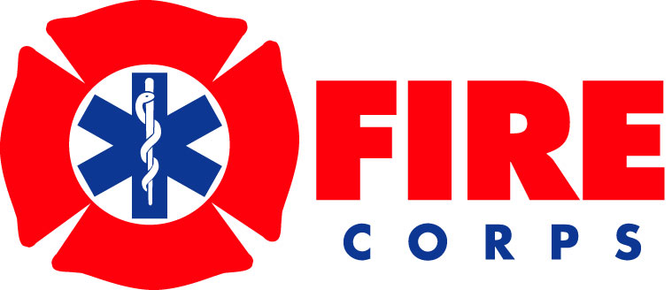 FireCorps Blue Red Logo